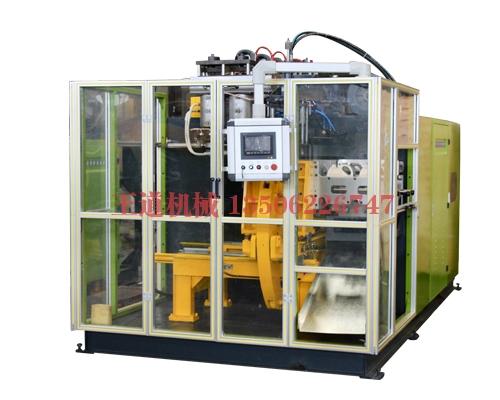 Blow molding machine operation process