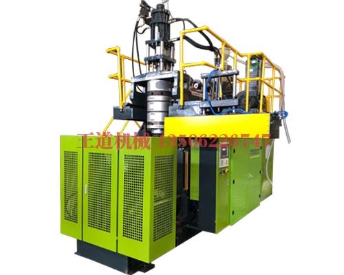 Automatic blow molding machine operation process